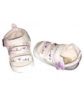 Sandales fermées papillon...