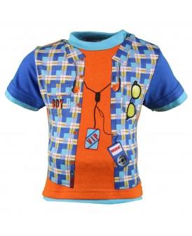 T-shirt VIP bleu