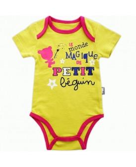 Body Petit Beguin jaune
