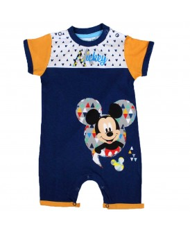 Barboteuse Mickey bleue