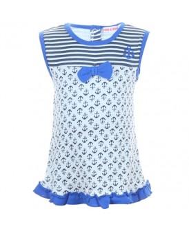 Robe body marin bleu