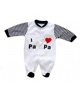 Grenouillère I LOVE PAPA...