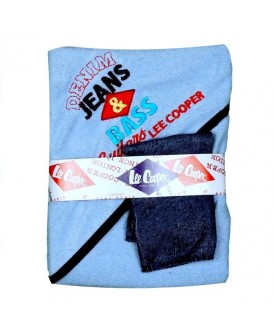 Set de bain bleu Lee Cooper